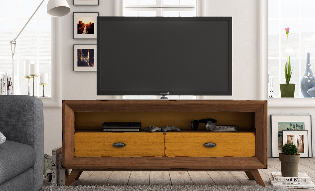 Mueble para la tv en ingles for Muebles online vintage