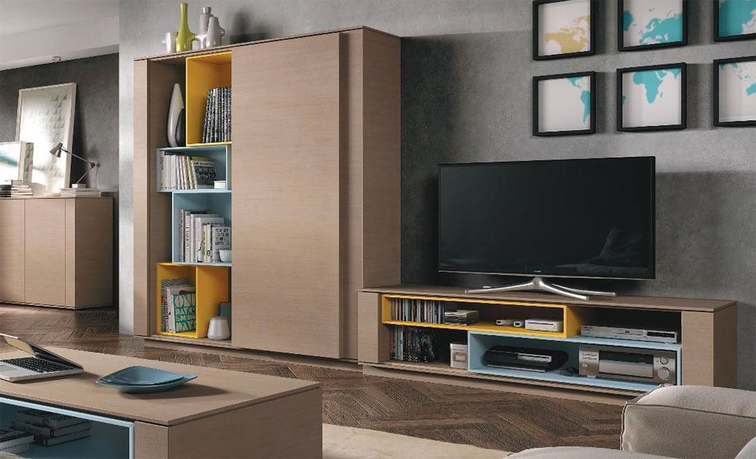 Mueble apilable AB415