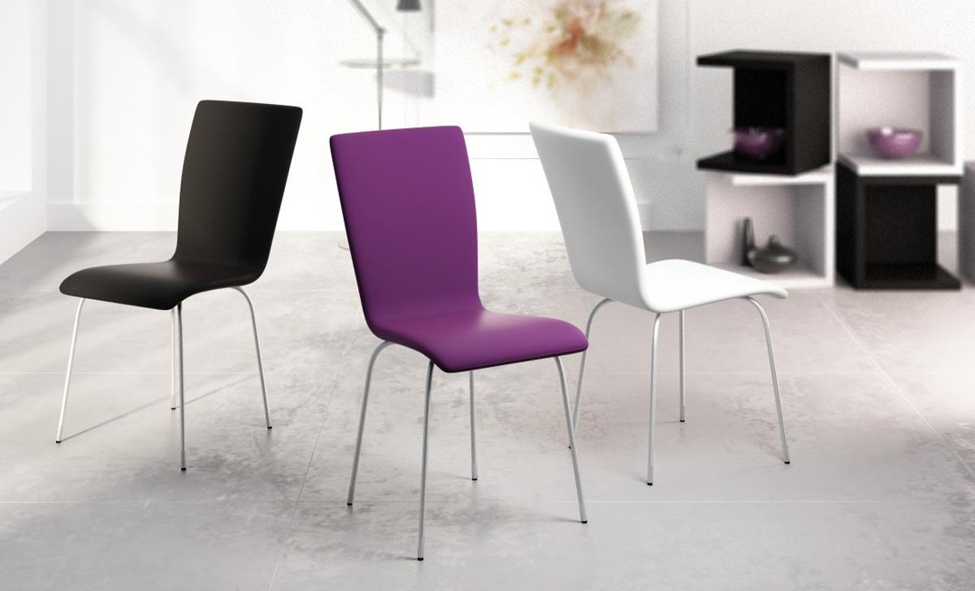 Silla sal n colors de seres mobel k6 for Muebles seres