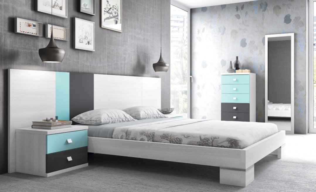 Dormitorio matrimonio f467 mobel k6 for Formas muebles juveniles