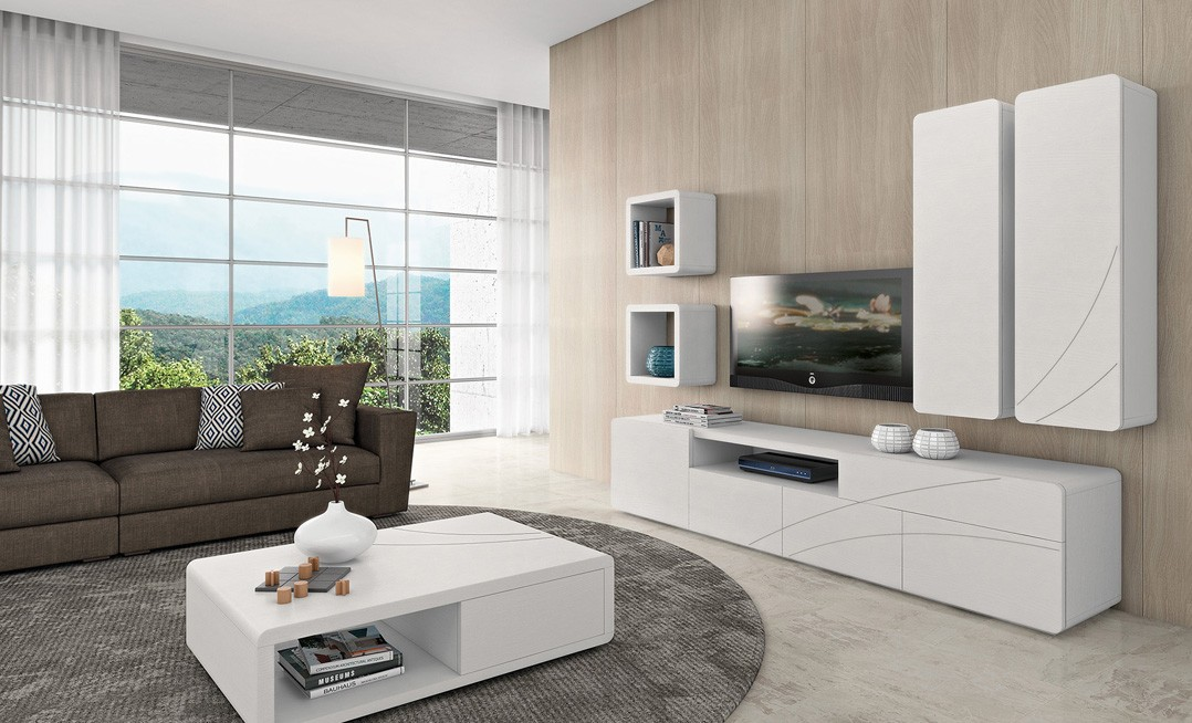 Mueble Apilable Curve