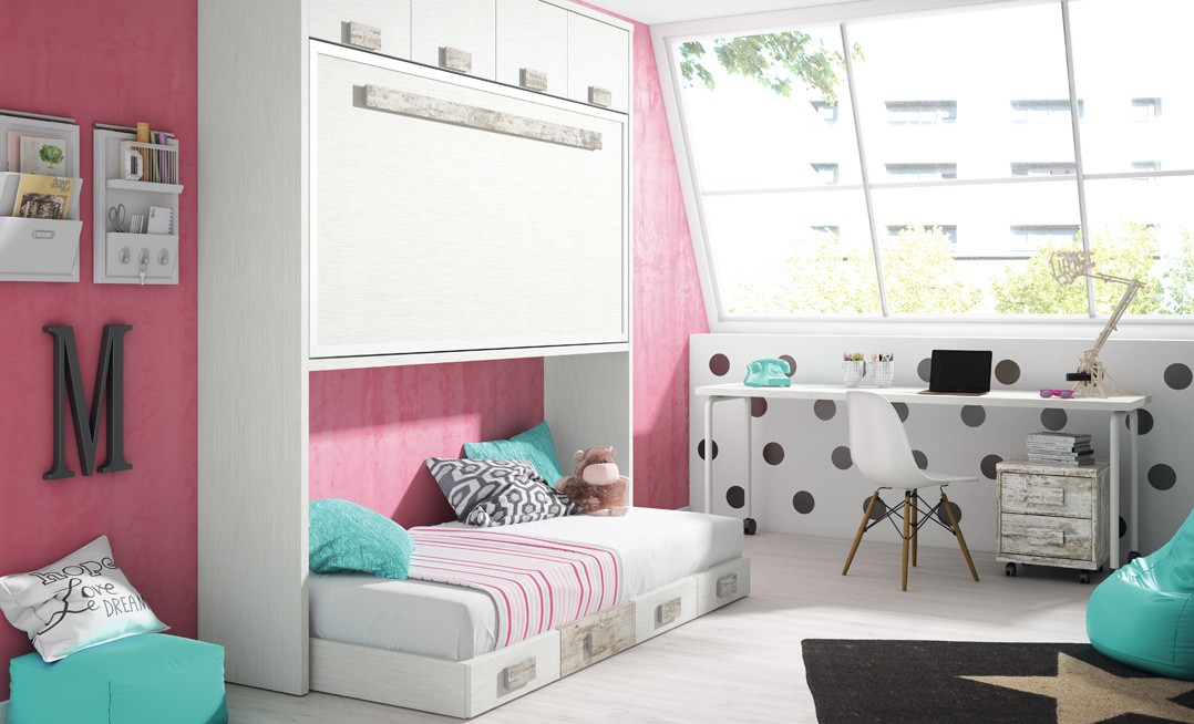 Cama abatible E102