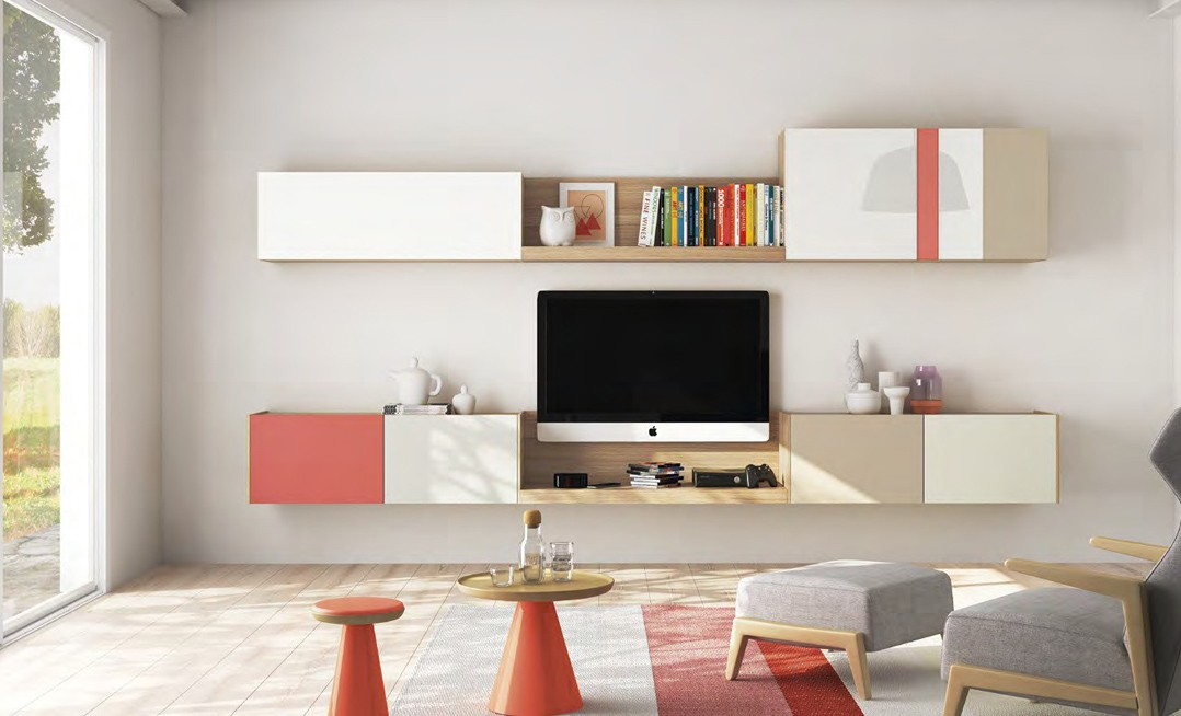 Mueble Apilable TV01